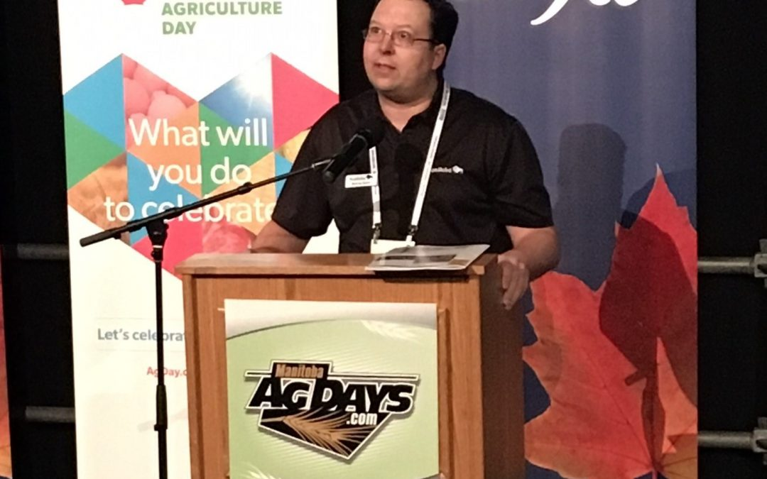 Bond discusses how to step up your 'grain game' at Ag Days