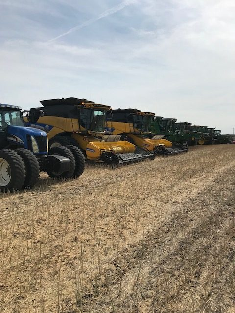 Redferns takes part in Acres of Hope harvest